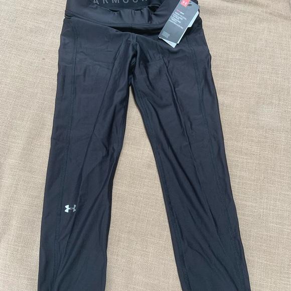 Brand New Black Underarmour 7/8 Length Leggings